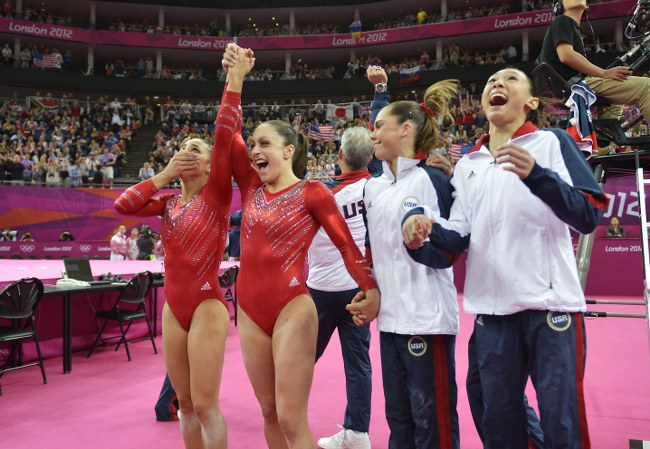 USA wins 2012 Olympic team competition