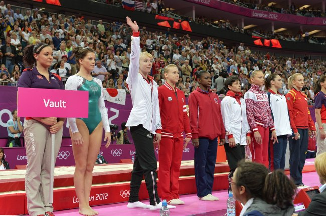 2012 London Olympic Vault final