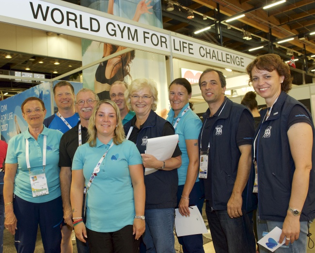 The FIG Gymnastics for All Committee together with organisers of the World Gym for Life Challenge 2017