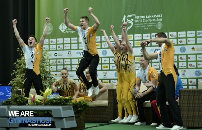Aerobic Step team Russian Federation